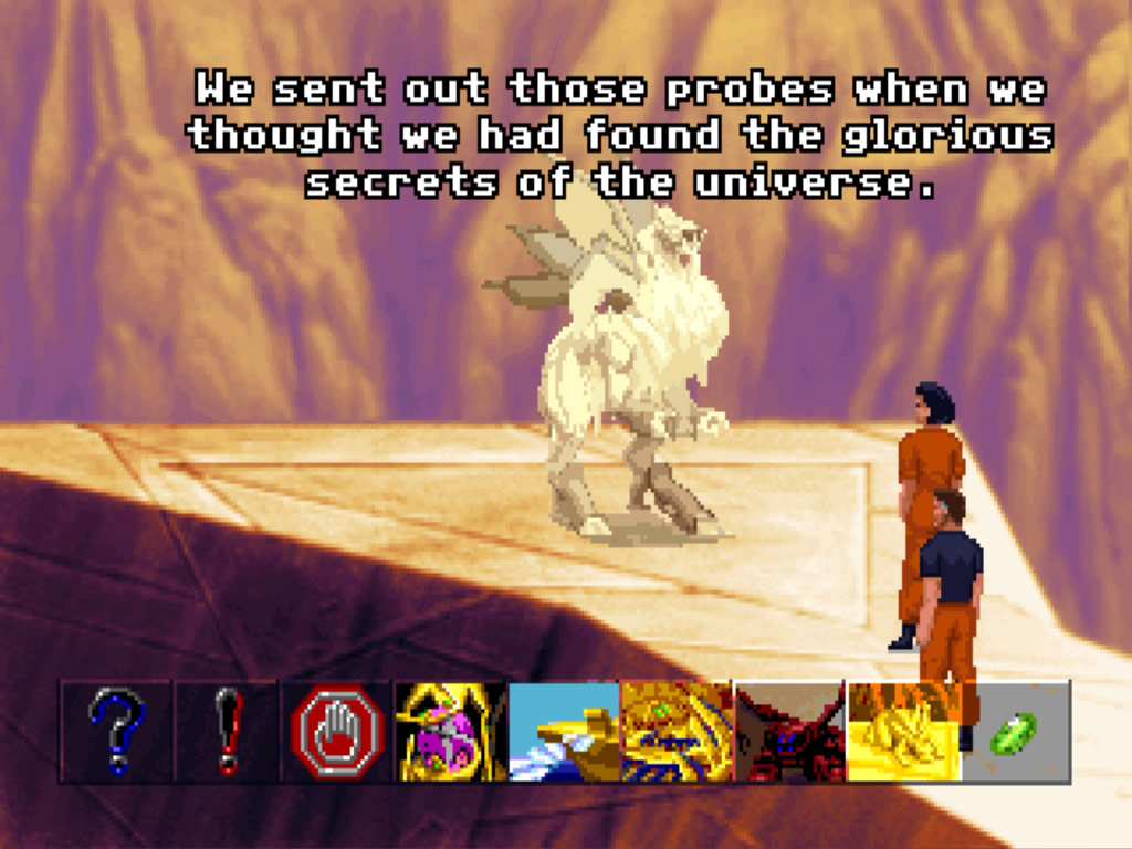 The Dig screenshot
