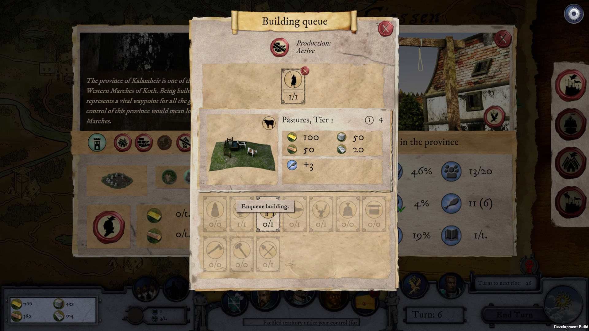 Empires in Ruins screenshot