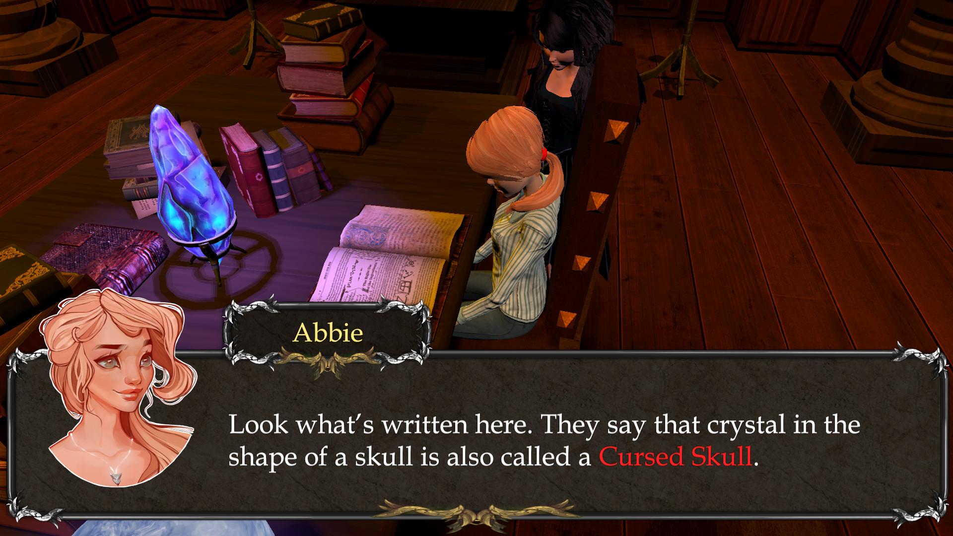 Zarya and the Cursed Skull Screenshot 1