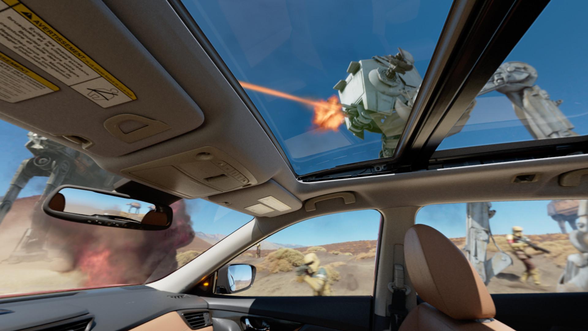 Battle Test: A Nissan Rogue 360° VR Experience