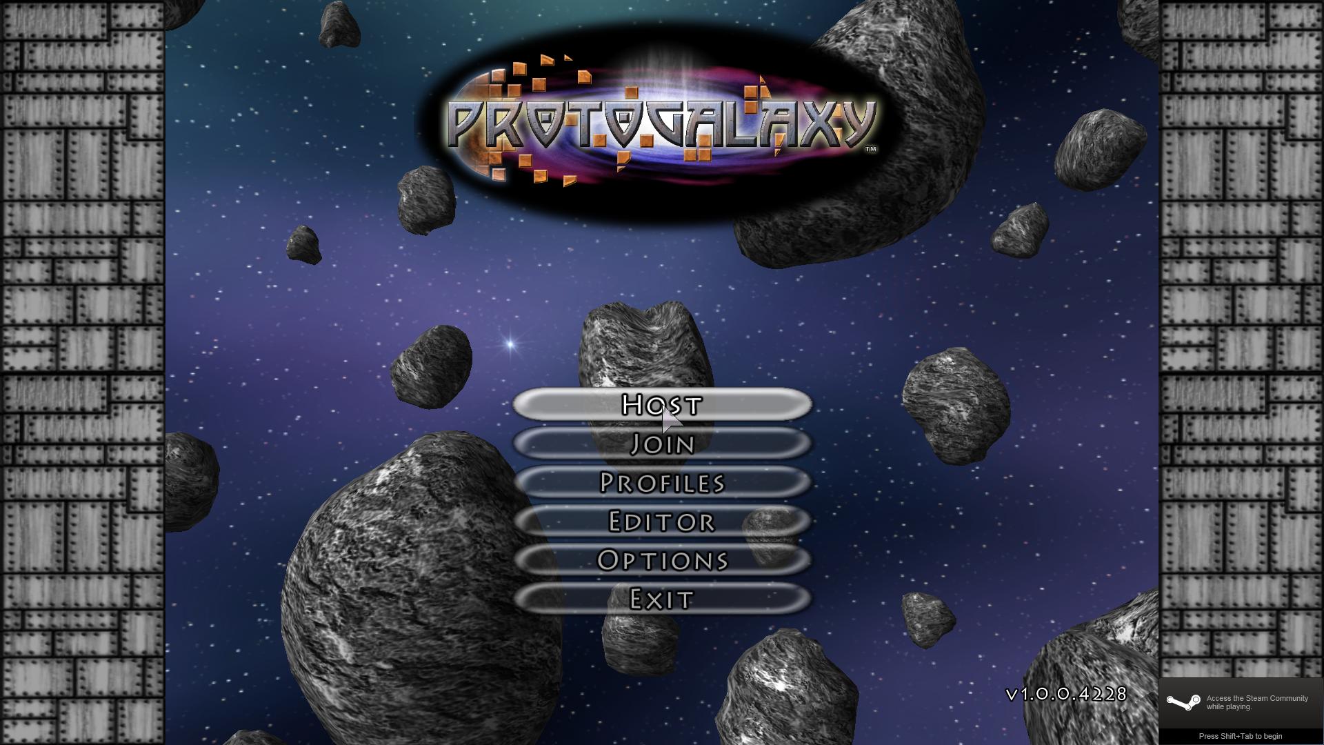 ProtoGalaxy screenshot