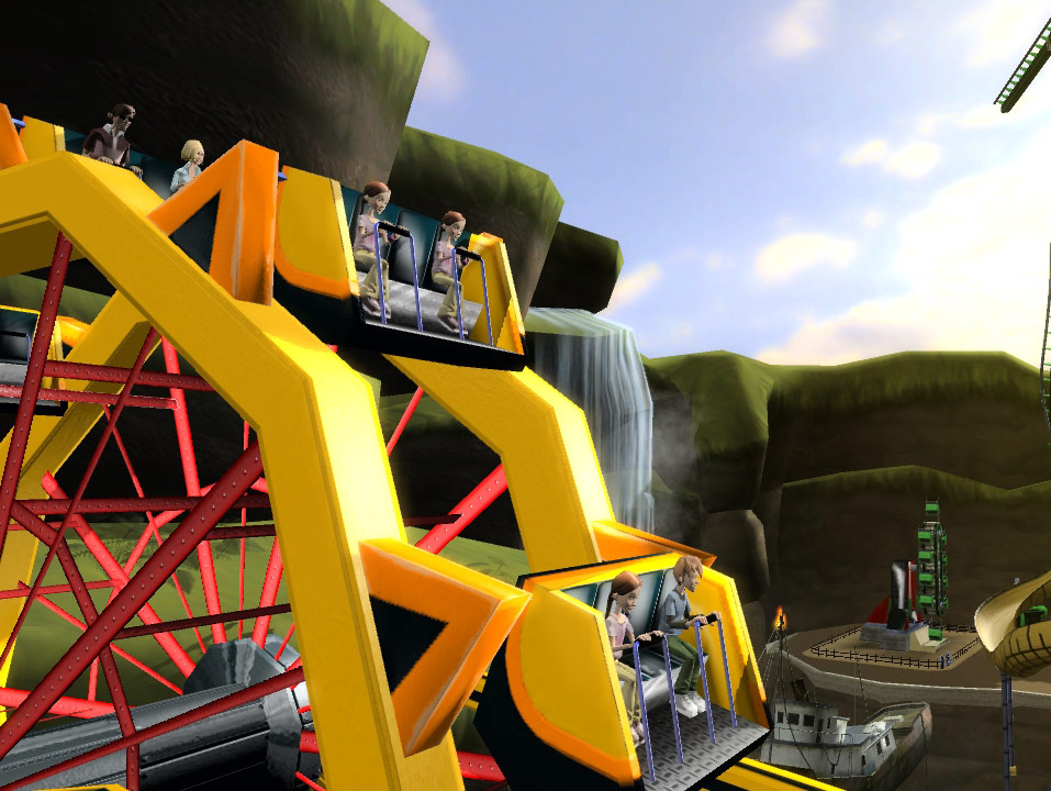 Thrillville: Off the Rails screenshot