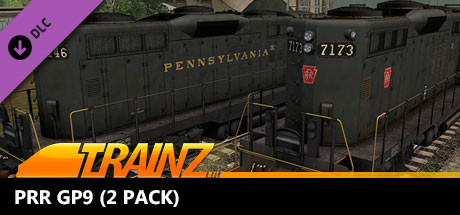 Trainz 2019 DLC: PRR GP9 (2 Pack)