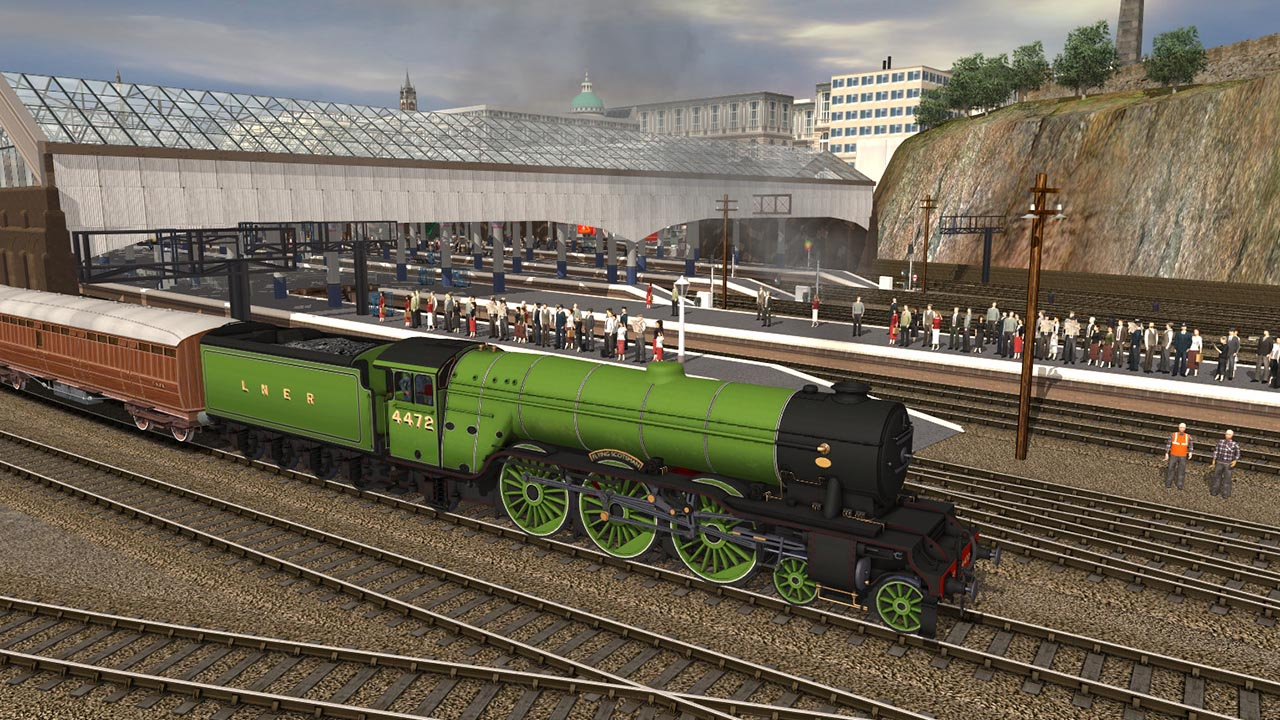 Trainz 2019 DLC: The Flying Scotsman 1920s screenshot