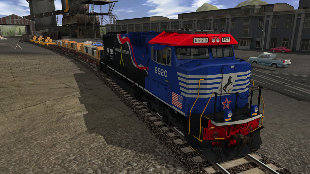 Trainz 2019 DLC: NS SD60E - 6920 Veterans Unit screenshot