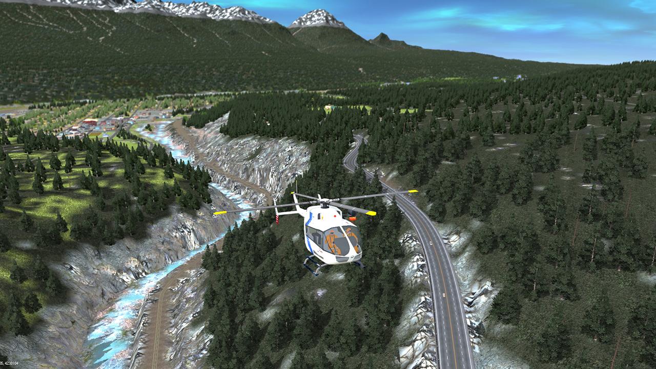 Trainz 2019 DLC Route: Canadian Rocky Mountains - Columbia River Basin screenshot