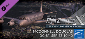 FSX: Steam Edition - McDonnell Douglas DC-8™ Series 10 - 40 Add-On