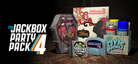 Allgamedeals.com - The Jackbox Party Pack 4 - STEAM