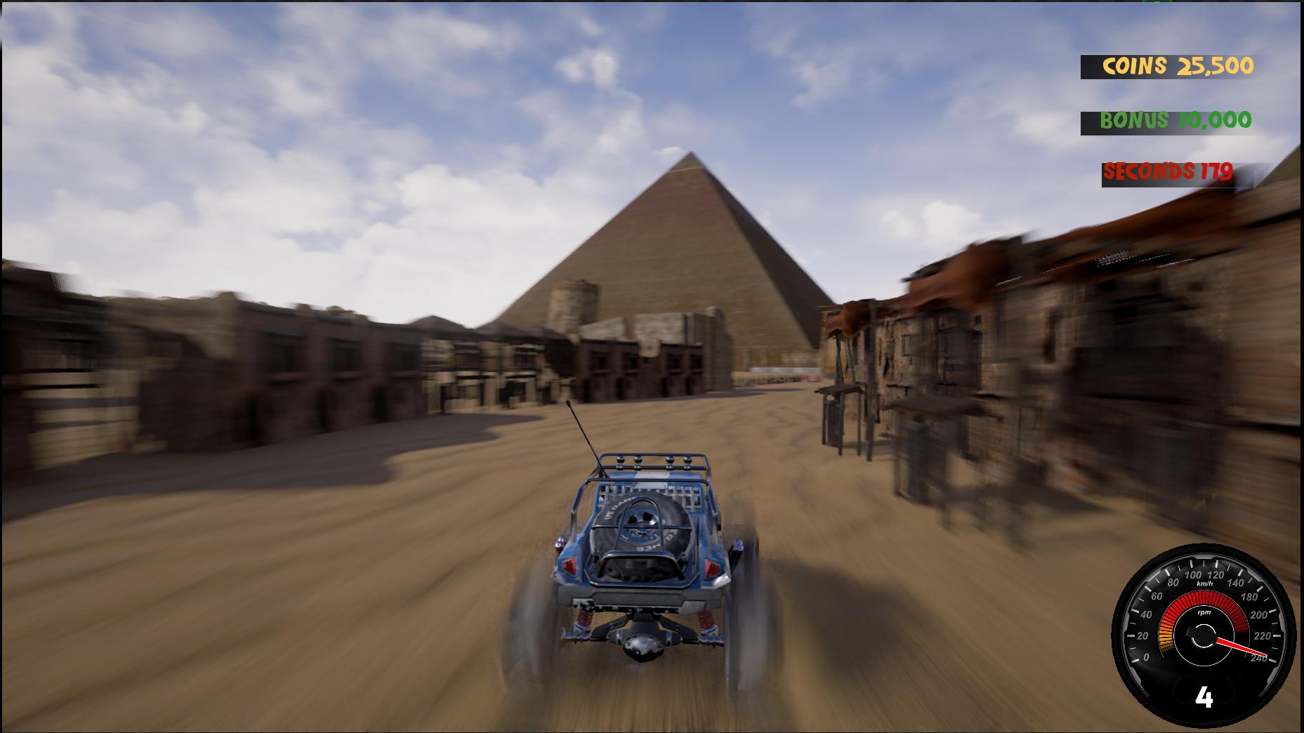 Crazy Buggy Racing screenshot