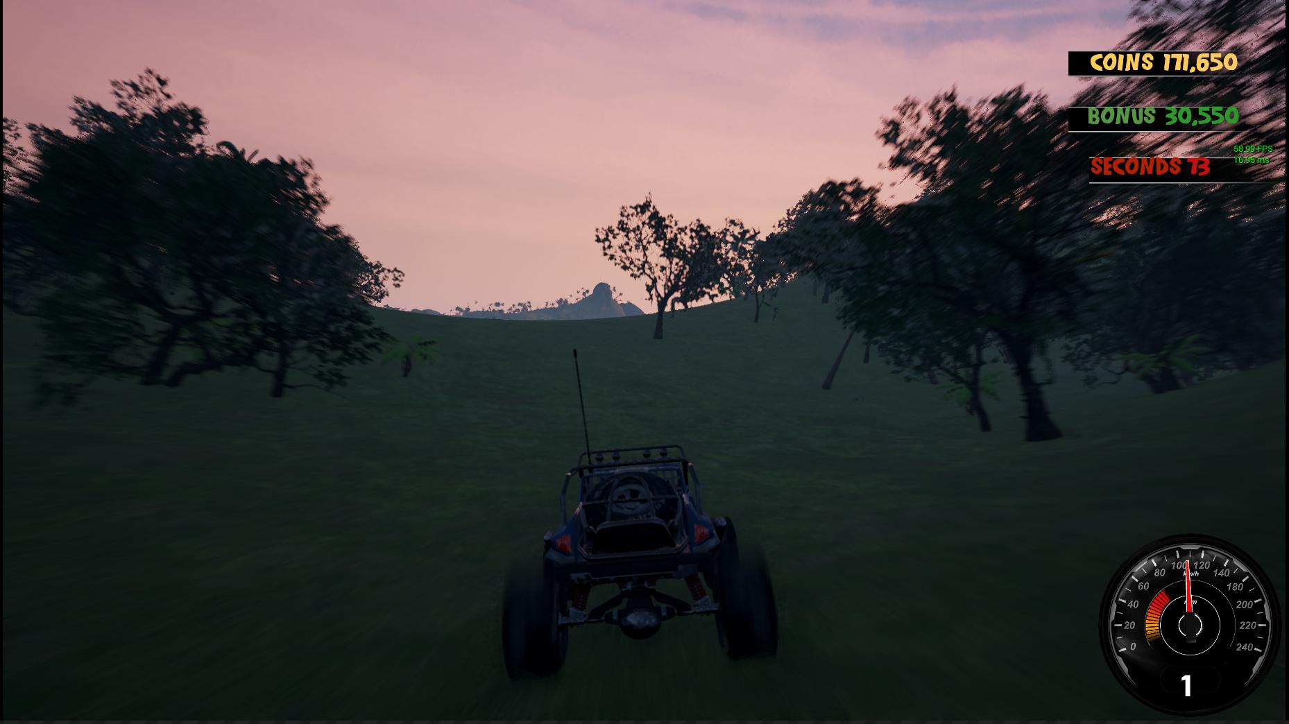 Crazy Buggy Racing Screenshot 1