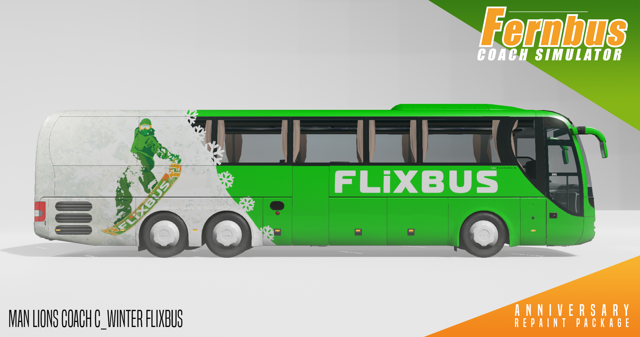 Fernbus Simulator - Anniversary Repaint Package screenshot