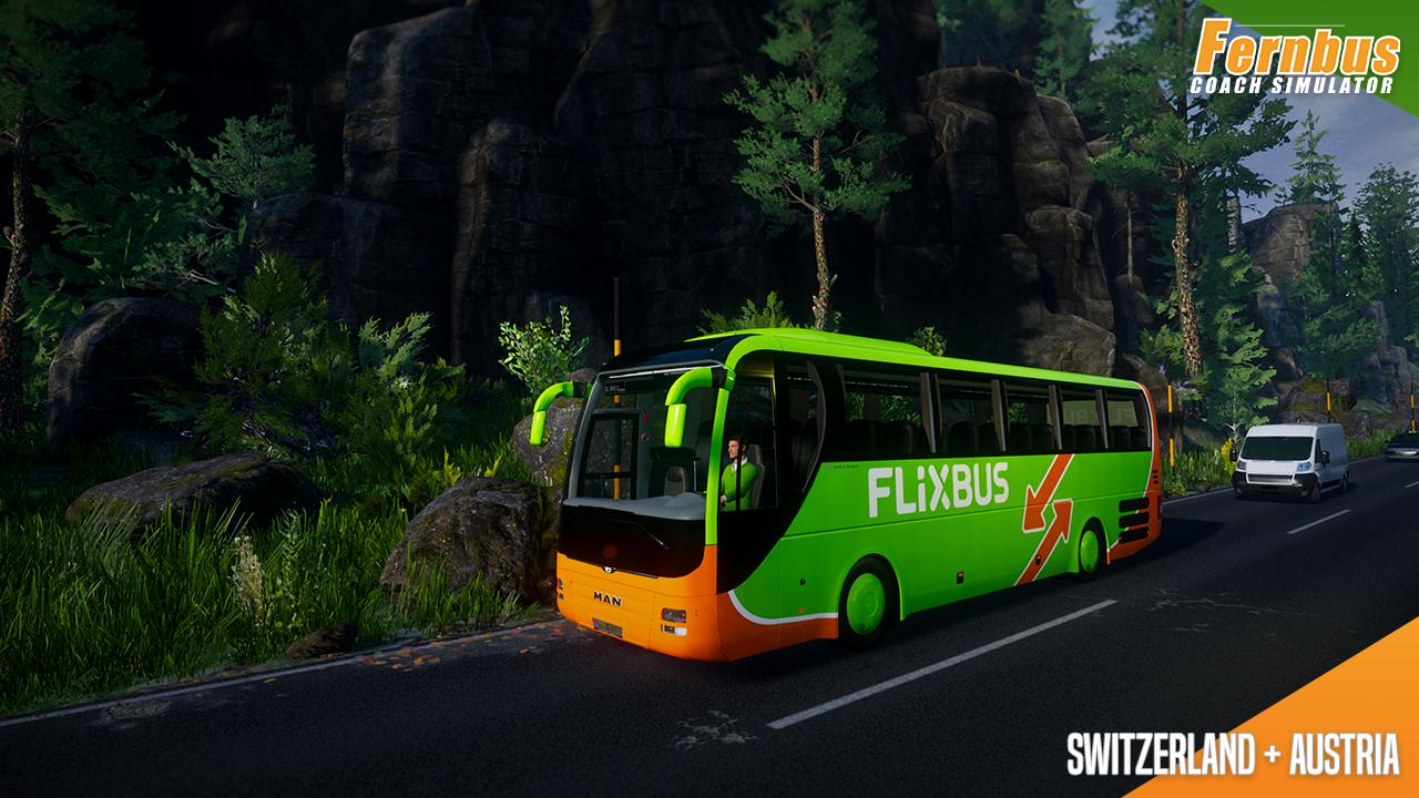Fernbus Simulator - Austria/Switzerland screenshot