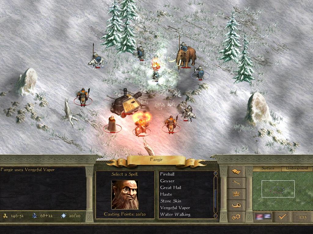 Age of Wonders II: The Wizard's Throne screenshot