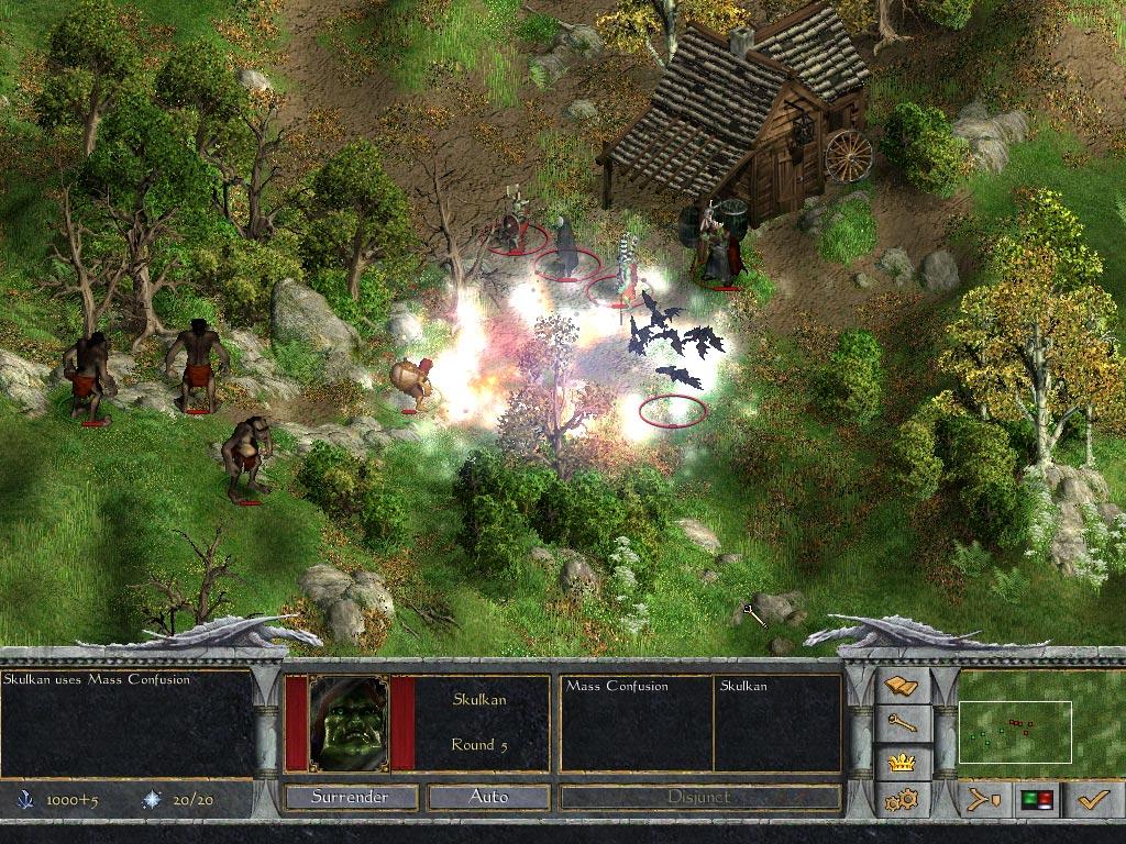 Age of Wonders Shadow Magic screenshot