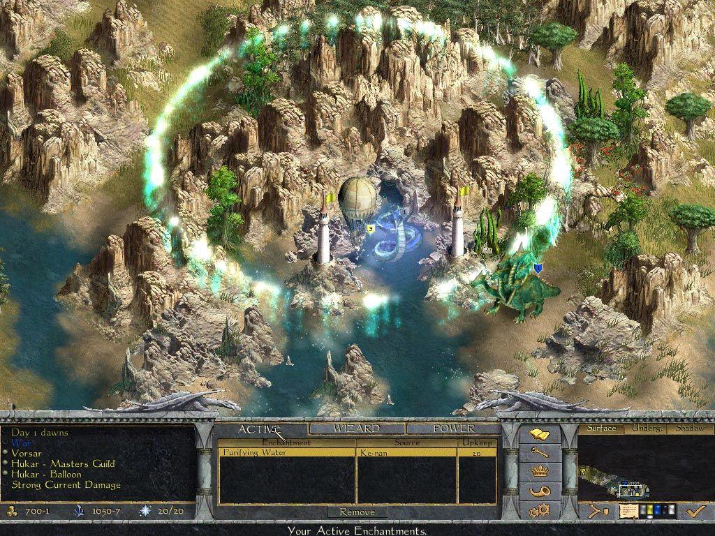 Age of Wonders: Shadow Magic screenshot 2