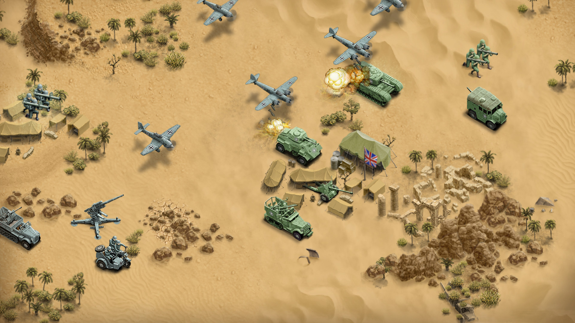 1943 Deadly Desert screenshot