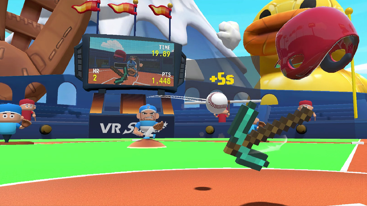 VR Slugger: The Toy Baseball Field screenshot