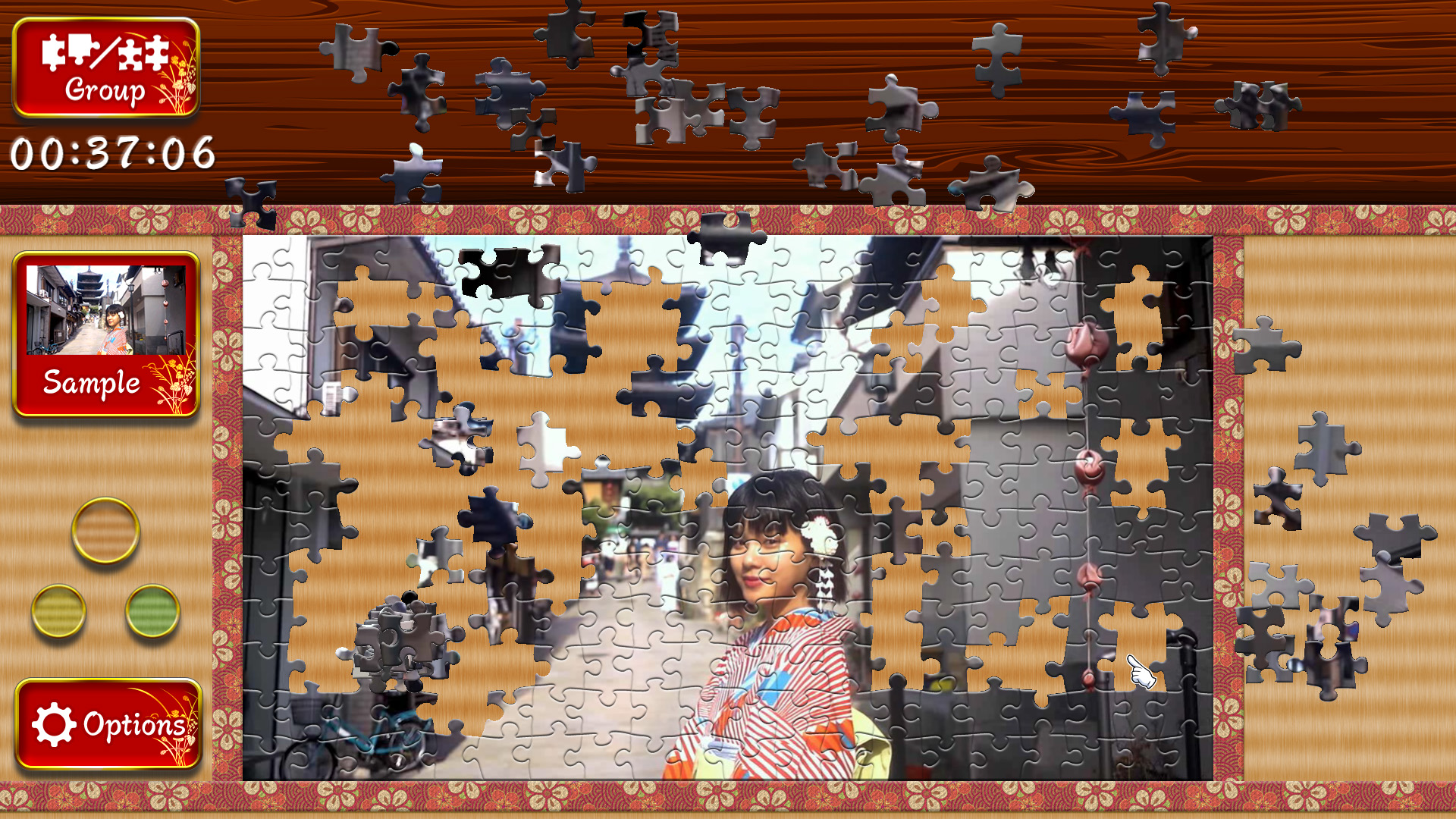 Japanese Women - Animated Jigsaws screenshot