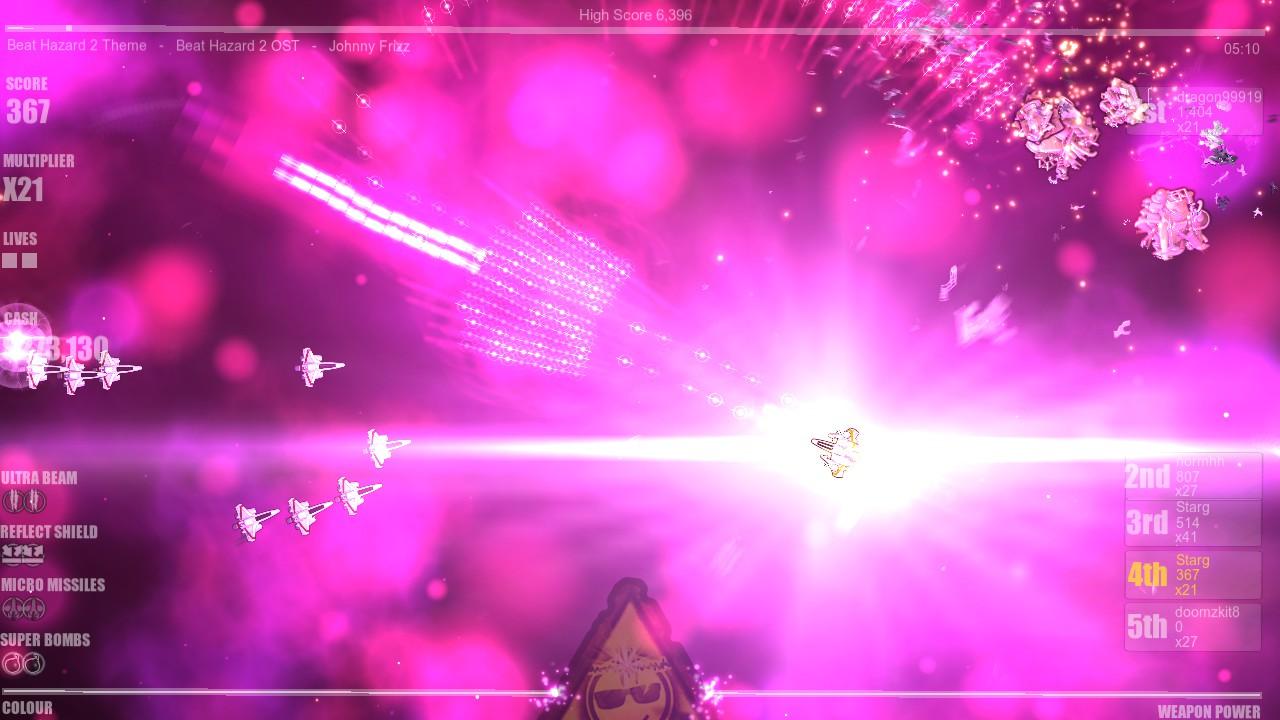 Beat Hazard 2 screenshot
