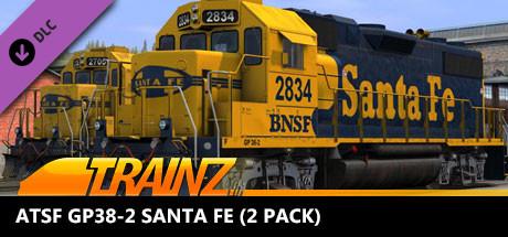 Trainz 2019 DLC: ATSF GP38-2 Santa FE (2 Pack)