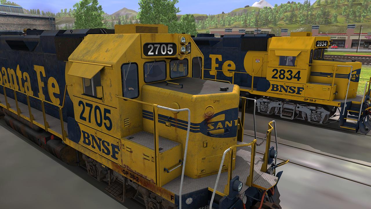 Trainz 2019 DLC: ATSF GP38-2 Santa FE (2 Pack) screenshot