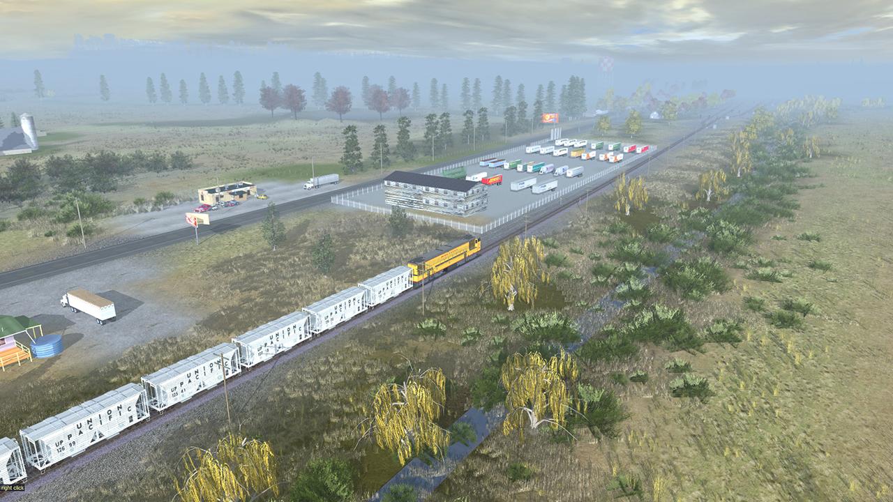 Trainz 2019 DLC: Fall Harvest Nebraska screenshot