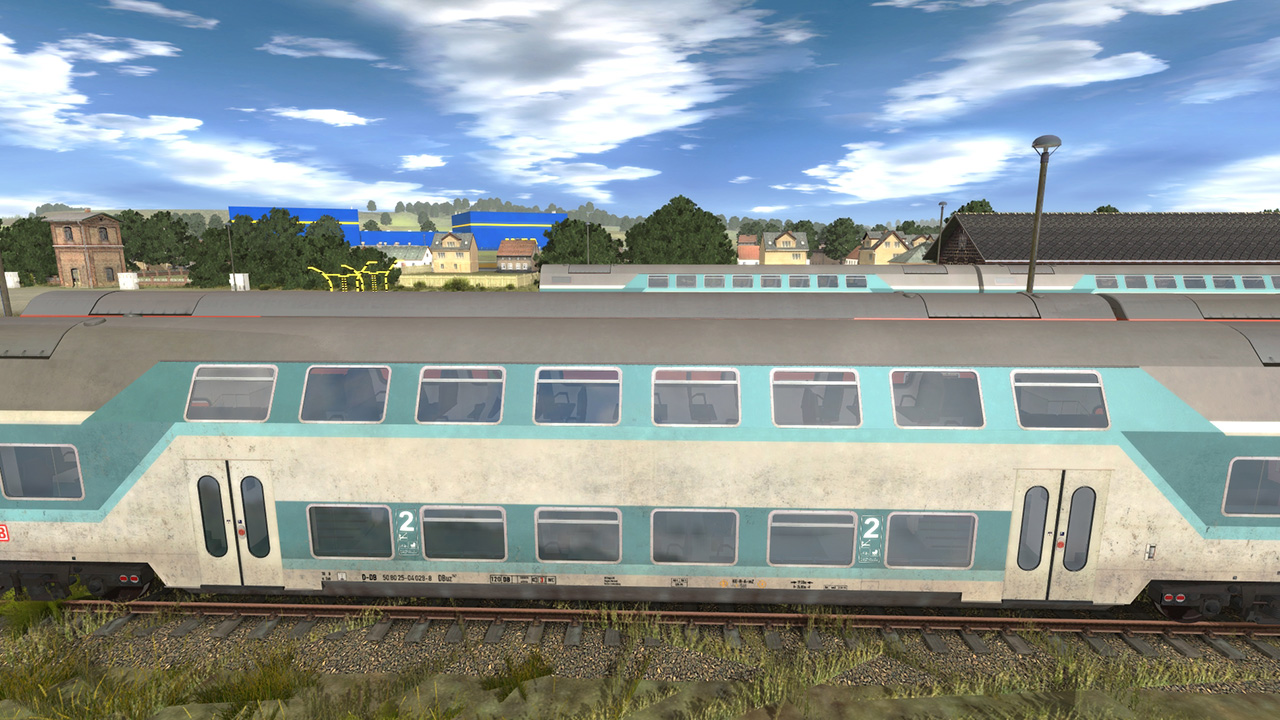 Trainz 2019 DLC: DBuz 747 Passenger Cars screenshot