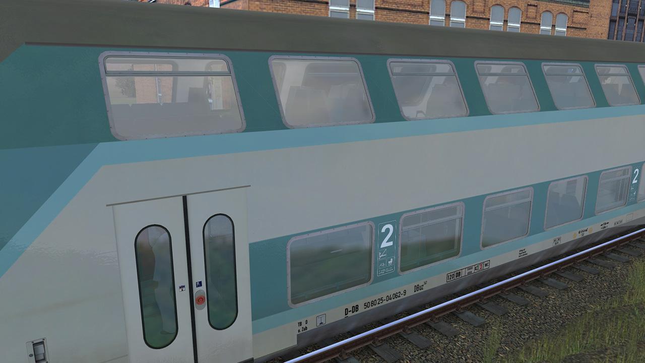 Trainz 2019 DLC: DBuz 747 Passenger Cars screenshot
