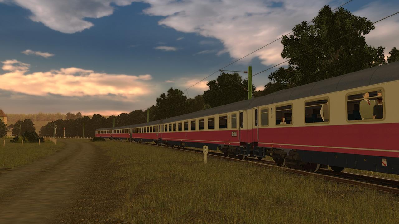 Trainz 2019 DLC: Avmz Intercity 71 screenshot