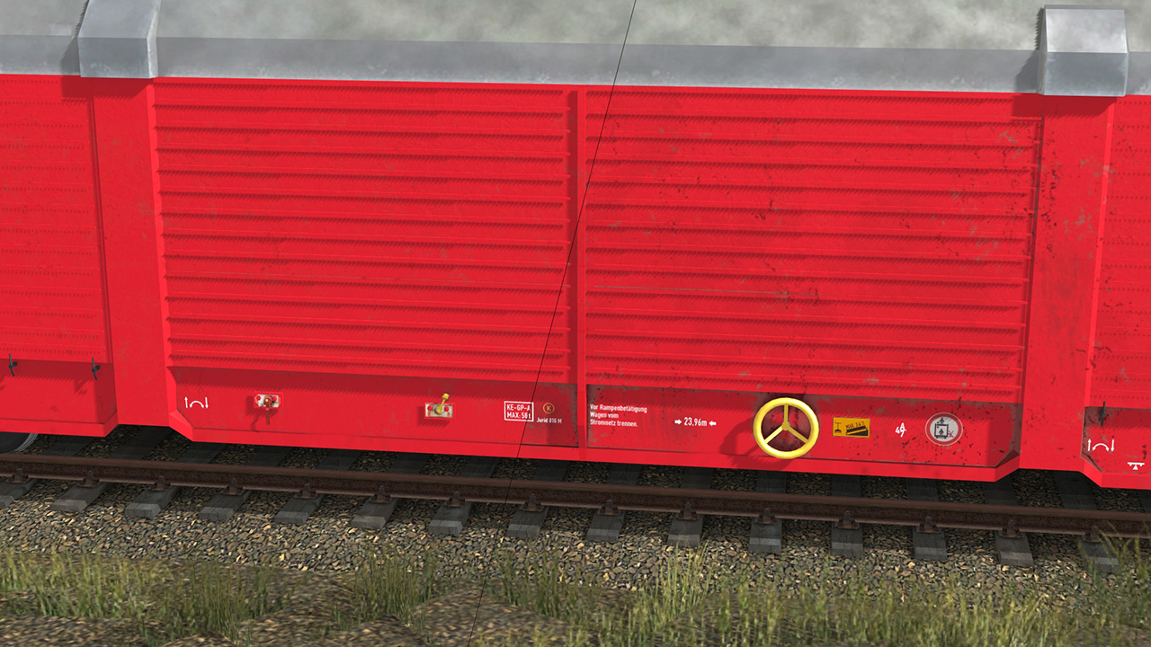 Trainz 2019 DLC: Hccrrs Car Transporter screenshot