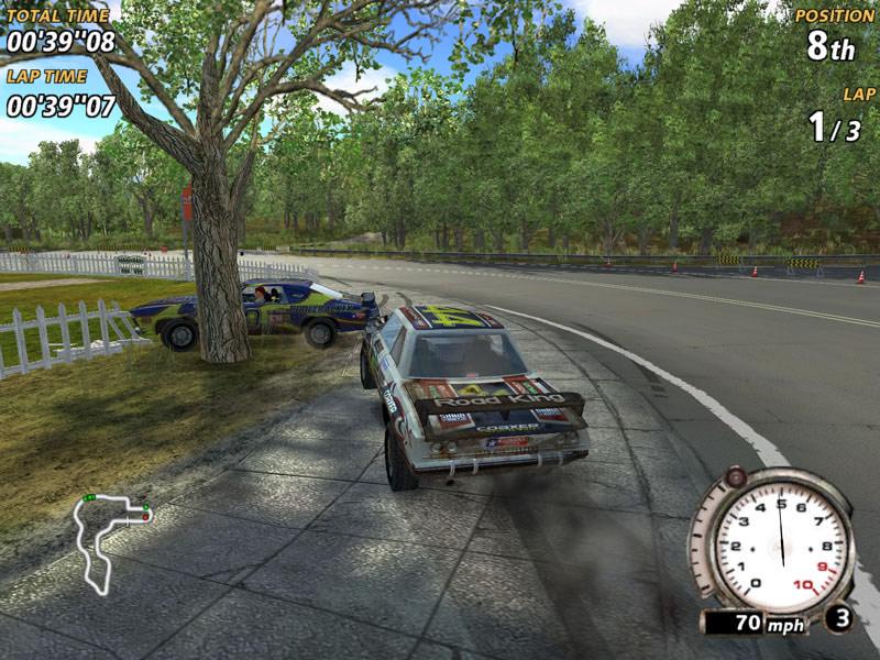 FlatOut screenshot