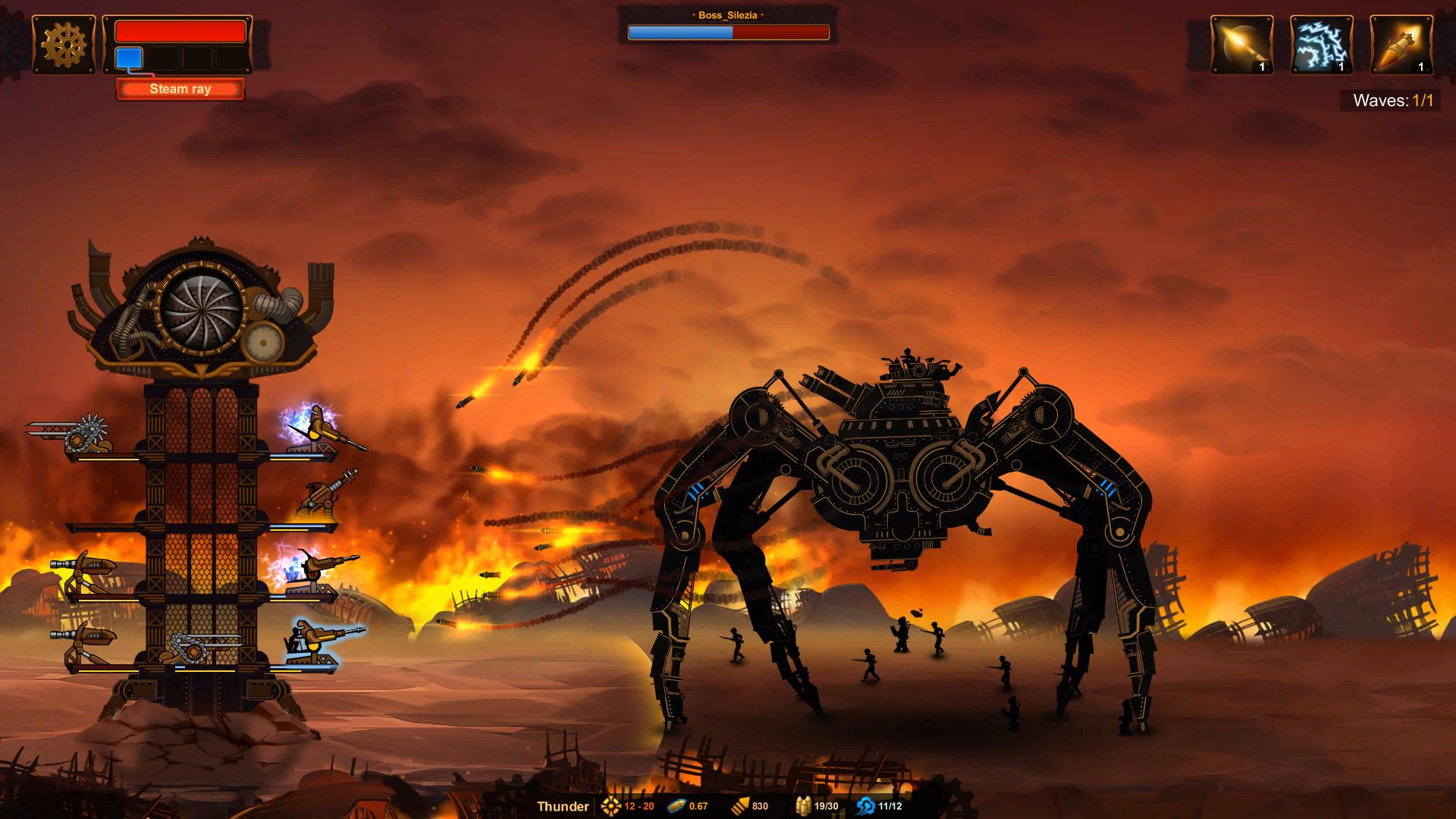 Steampunk Tower 2 screenshot