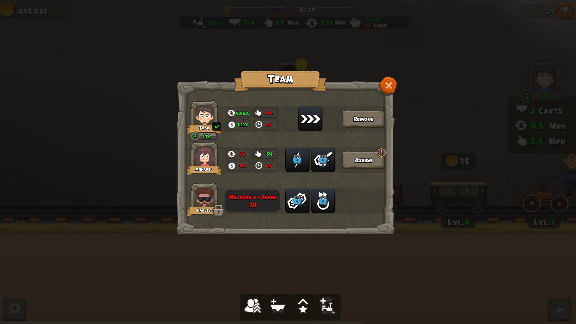 TrainClicker Idle Evolution screenshot