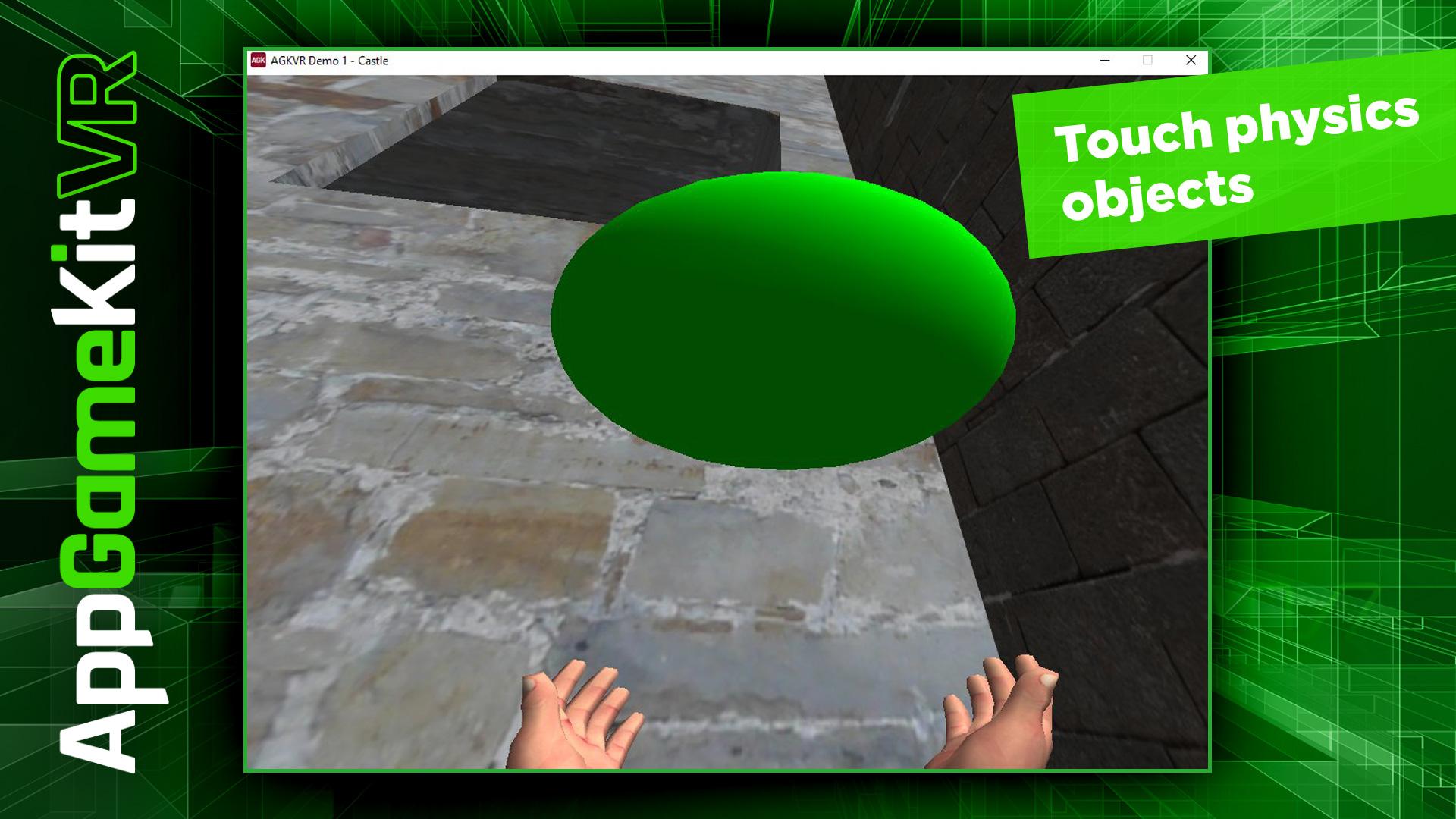 AppGameKit VR screenshot