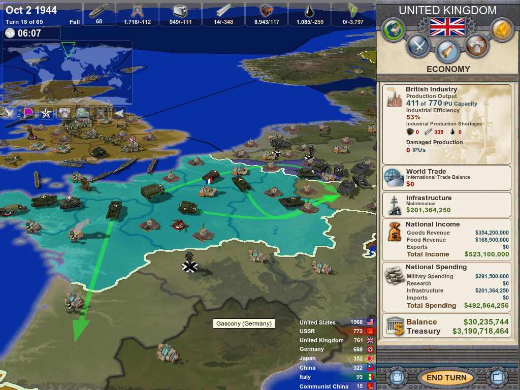 Making History: The Calm & the Storm screenshot