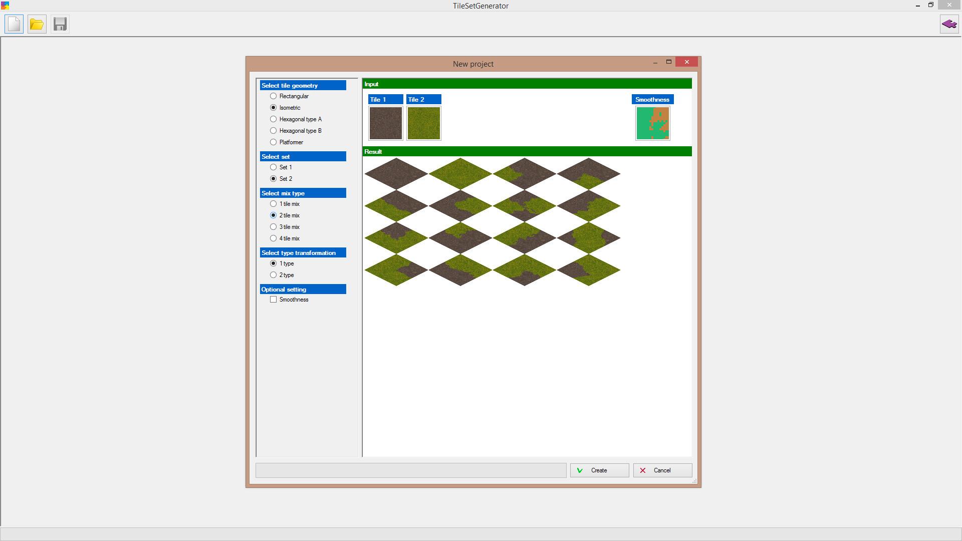 TileSetGenerator screenshot