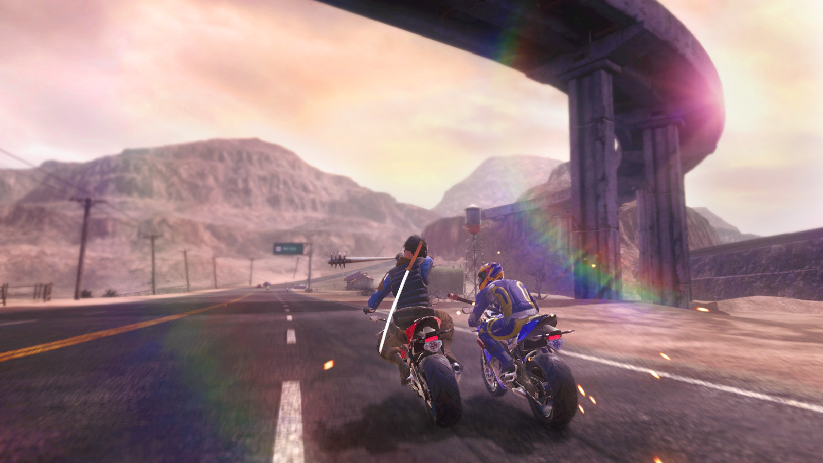 Road Redemption: Name A Character screenshot