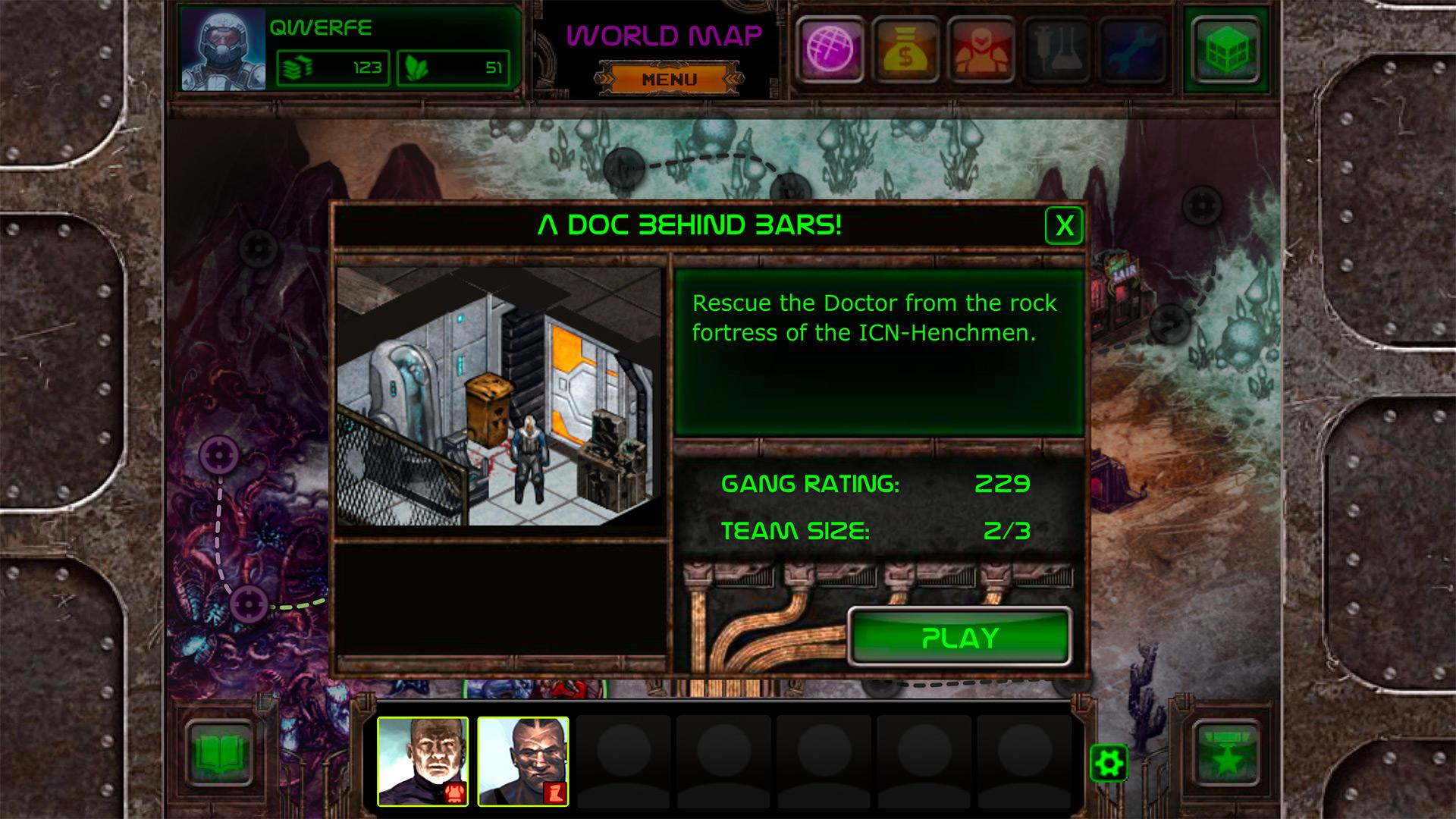 Bionic Battle Mutants screenshot