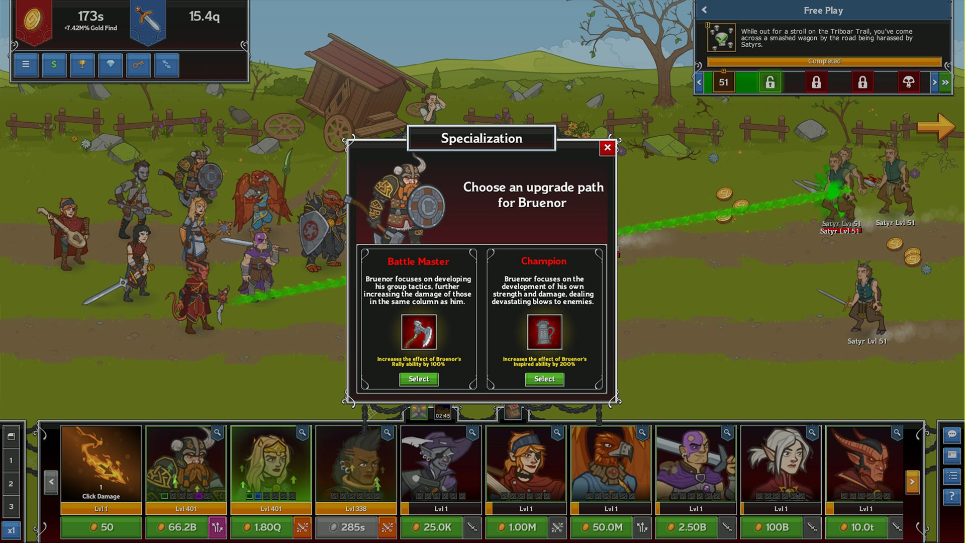 Idle Champions of the Forgotten Realms screenshot