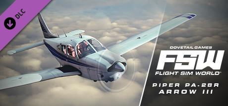 Flight Sim World: Piper PA-28R Arrow III Add-On steam key giveaway