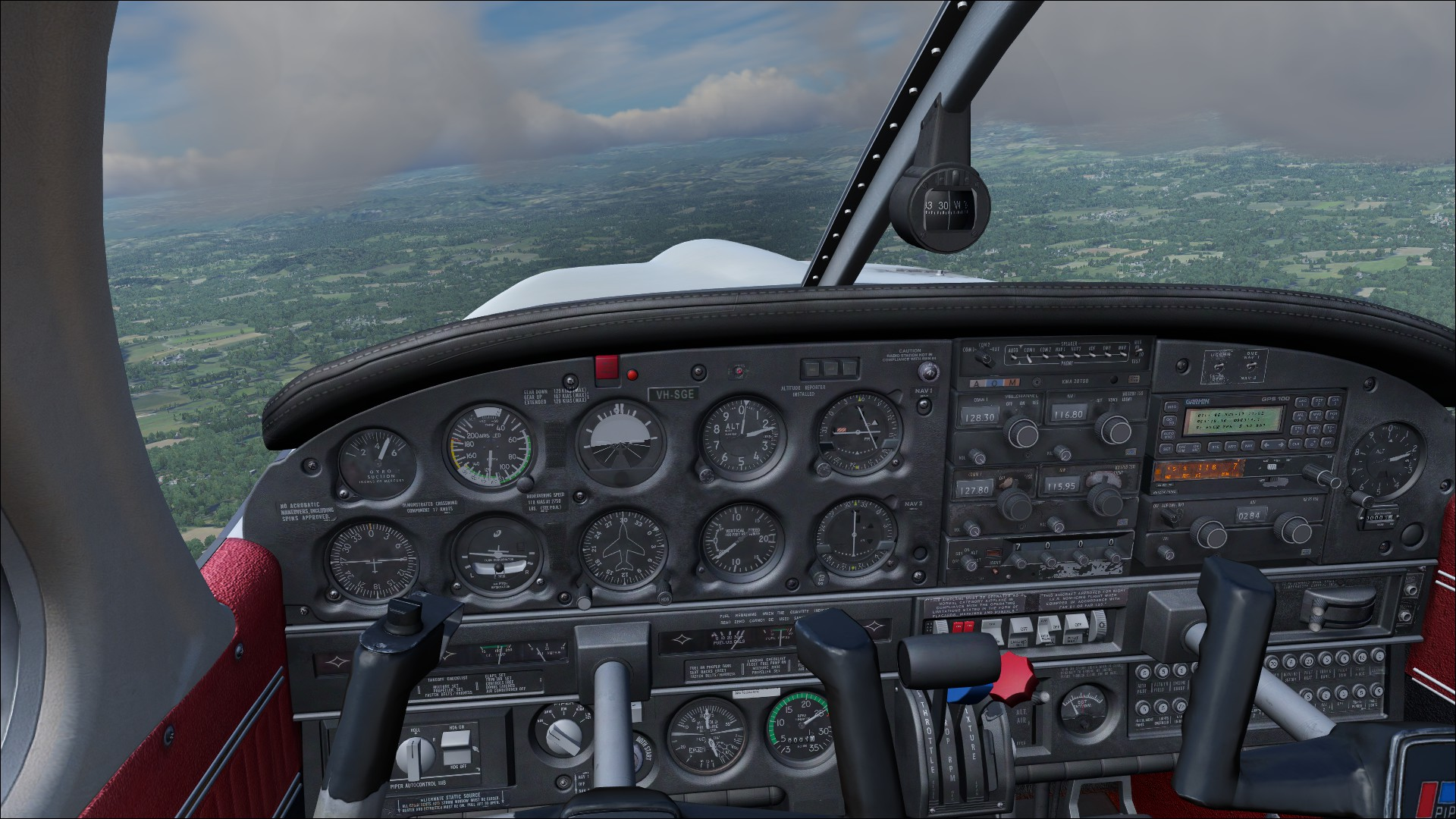 Flight Sim World: Piper PA-28R Arrow III Add-On screenshot