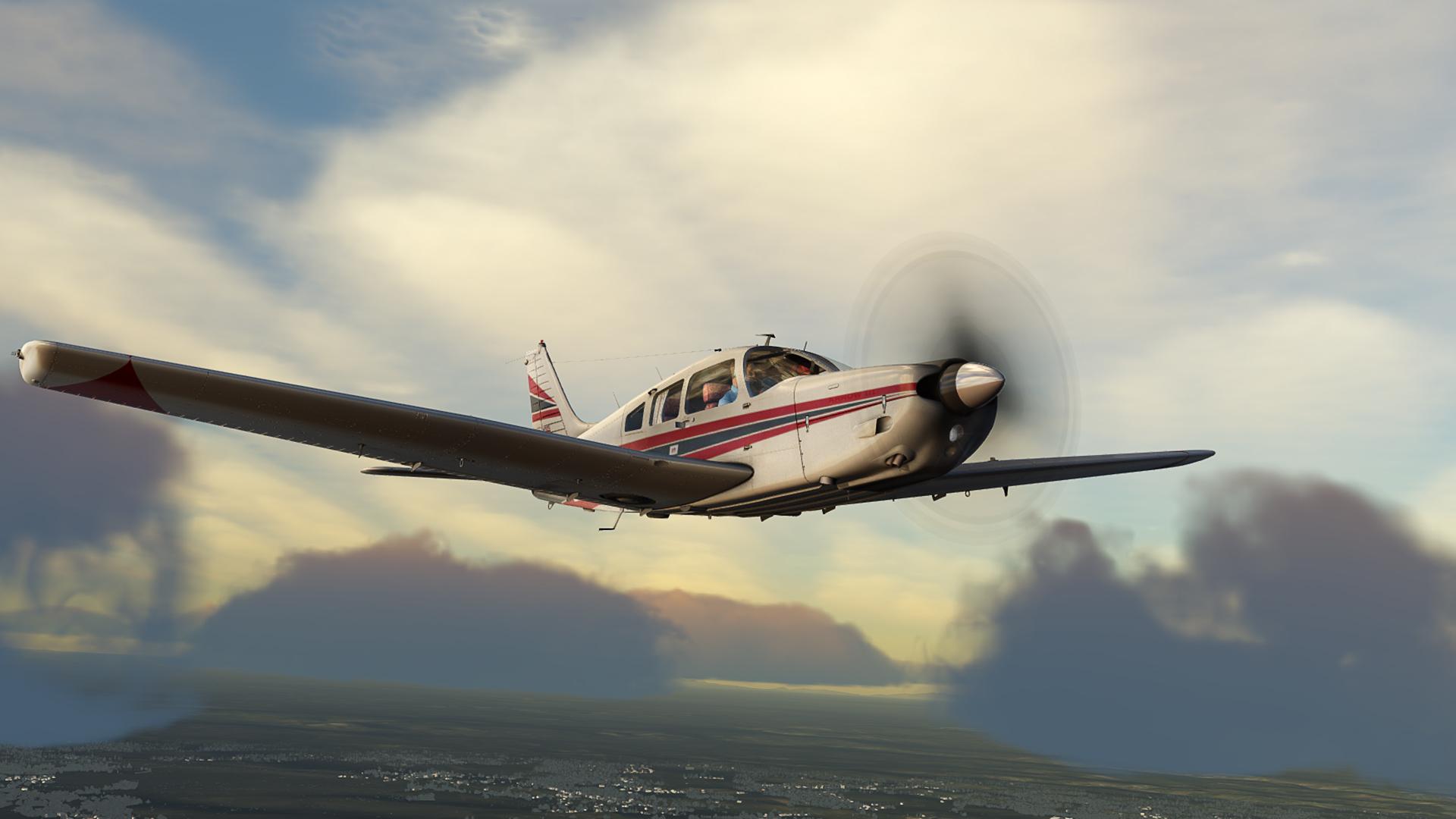 Flight Sim World: Piper PA-28R Arrow III Add-On screenshot