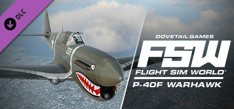 Flight Sim World: Curtiss P-40F Warhawk Add-On