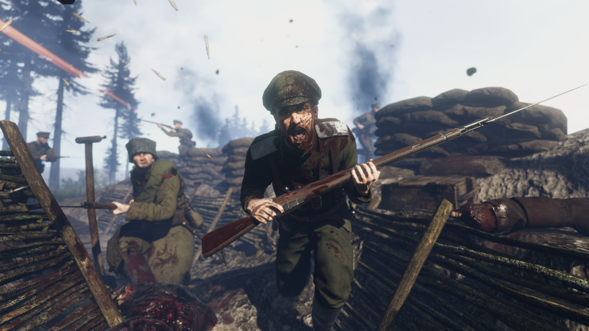 Tannenberg Game Weapons