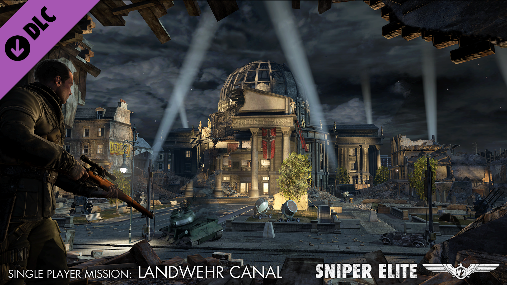 Sniper Elite V2 - The Landwehr Canal Pack screenshot