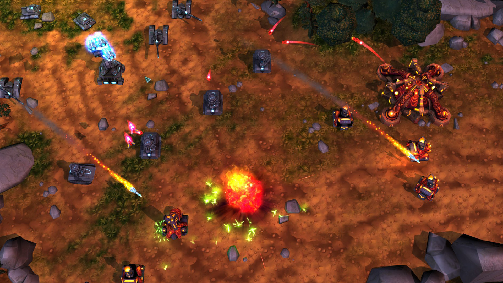 Tanks vs Aliens Screenshot 2