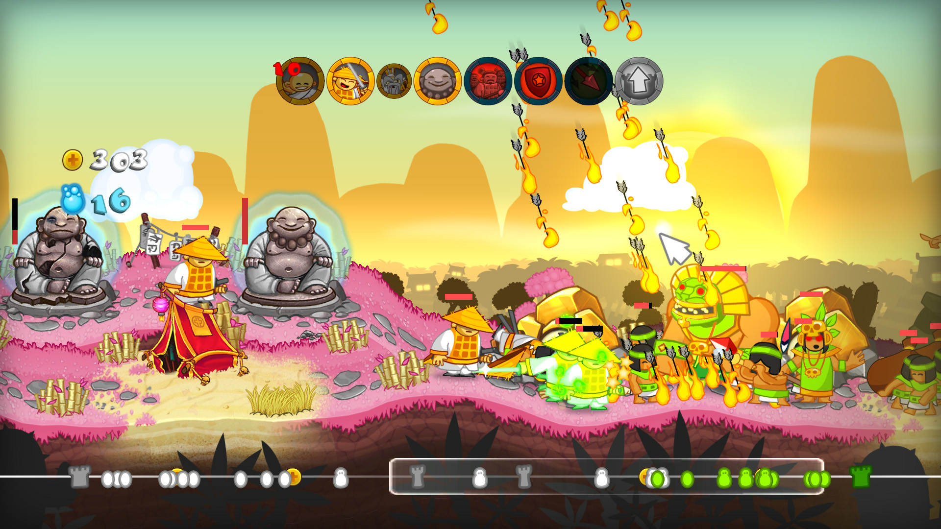 Swords and Soldiers HD screenshot