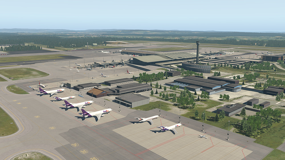 X-Plane 11 - Add-on: Aerosoft - Airport Oslo screenshot
