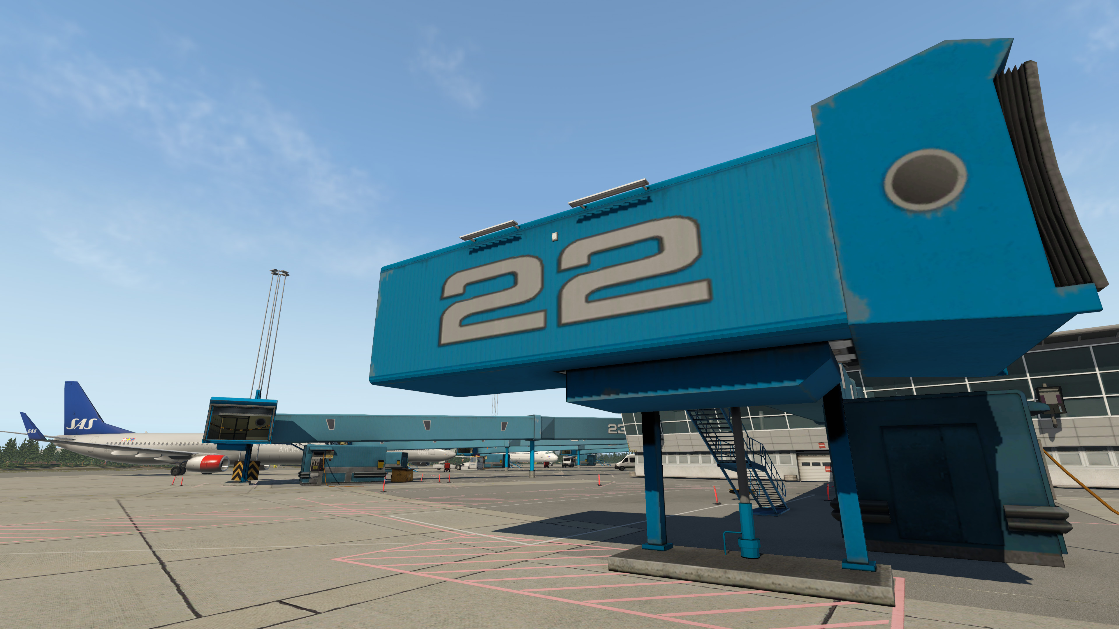 X-Plane 11 - Add-on: Aerosoft - Airport Bergen screenshot