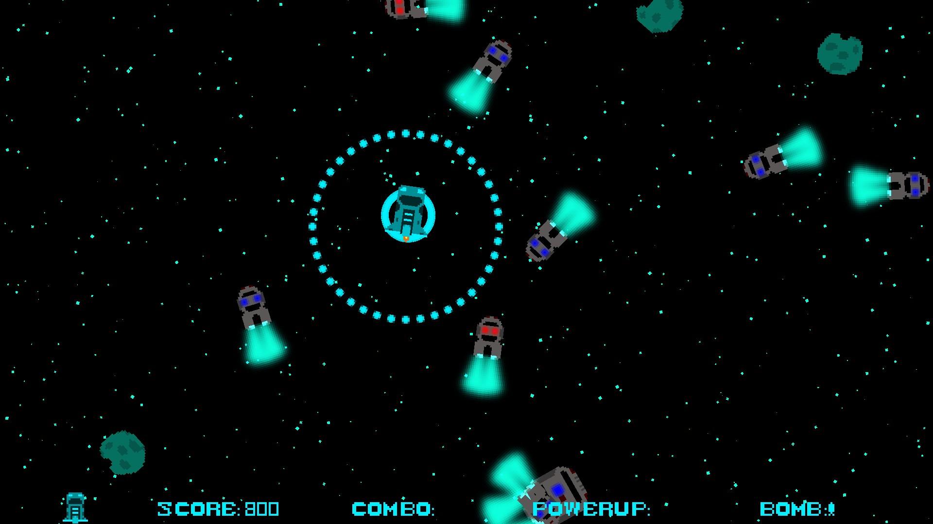 Cyberhunt screenshot